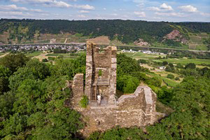 Längster Tag des Jahres Tour, Mosel 8, Ruine Wolf