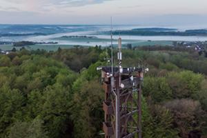 Highlights im Westerwald II,  Raiffeisenturm Heupelzen